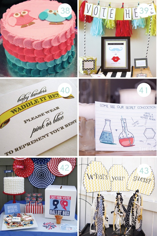 Creative Gender Reveal Party Ideas  100 Gender Reveal Ideas From The Dating Divas