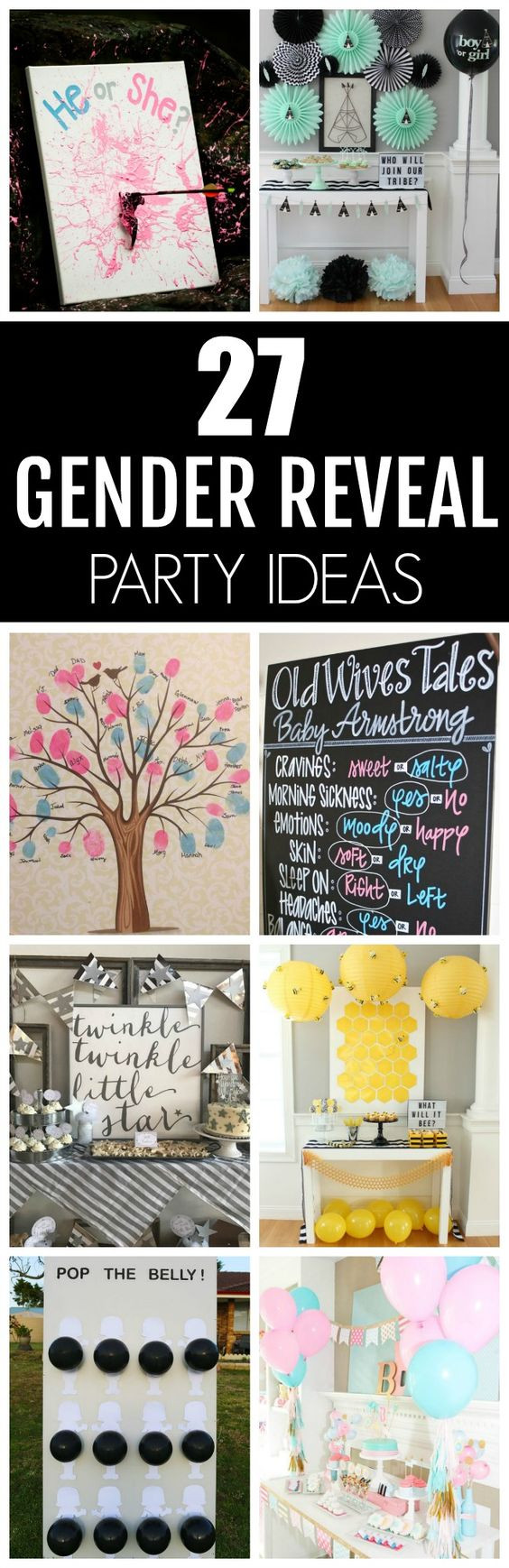 Creative Gender Reveal Party Ideas  27 Creative Gender Reveal Party Ideas Pretty My Party