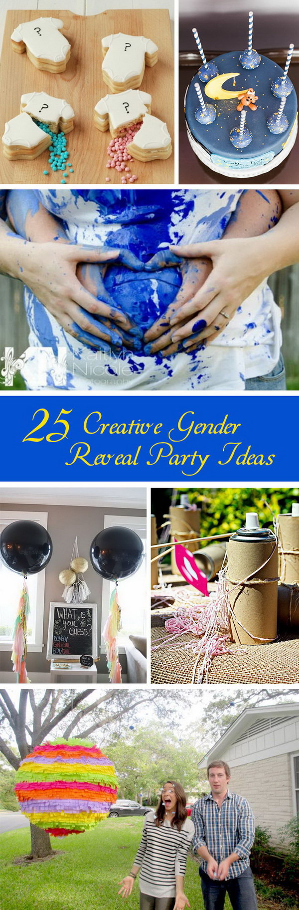 Creative Gender Reveal Party Ideas  25 Creative Gender Reveal Party Ideas Hative