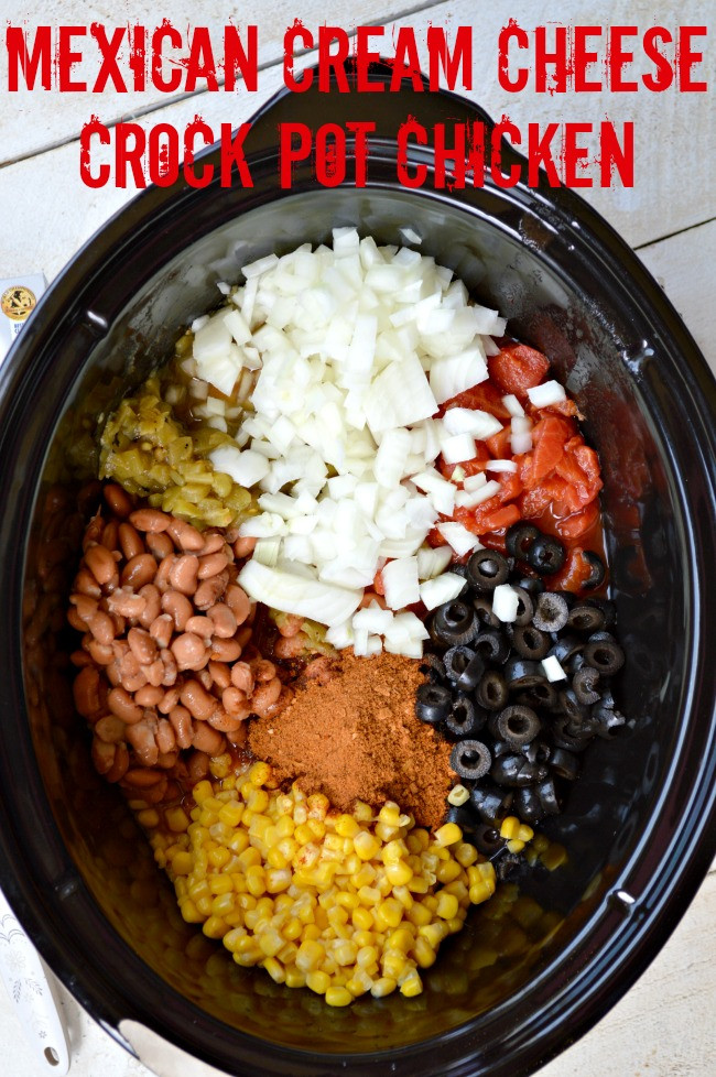Crockpot Mexican Recipes  Mexican Cream Cheese Crock Pot Chicken Gonna Want Seconds