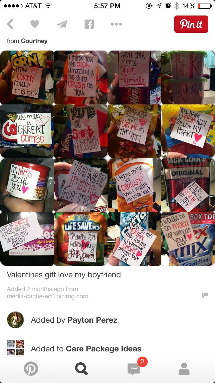 Cute Gift Ideas For Boyfriend Just Because  Just because care package With images