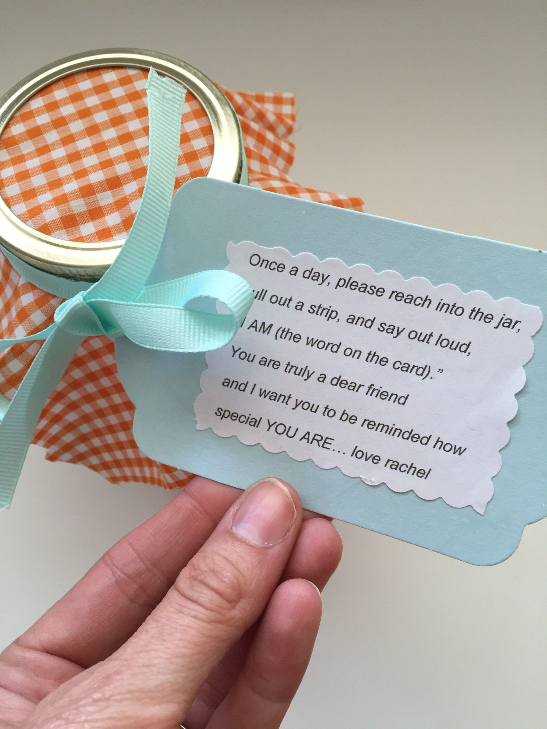 Cute Gift Ideas For Boyfriend Just Because  Simple Gift for a Friend Just Because