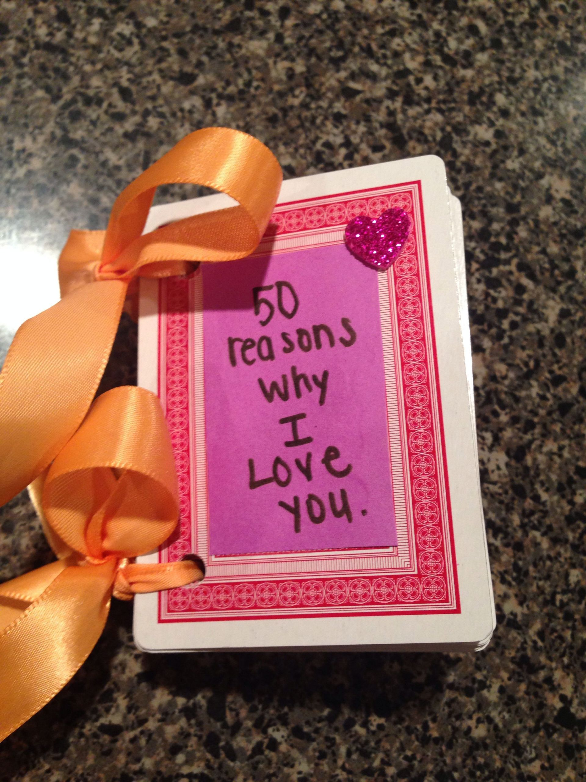 Cute Gift Ideas For Boyfriend Just Because  I made this for my boyfriend just because It s a great