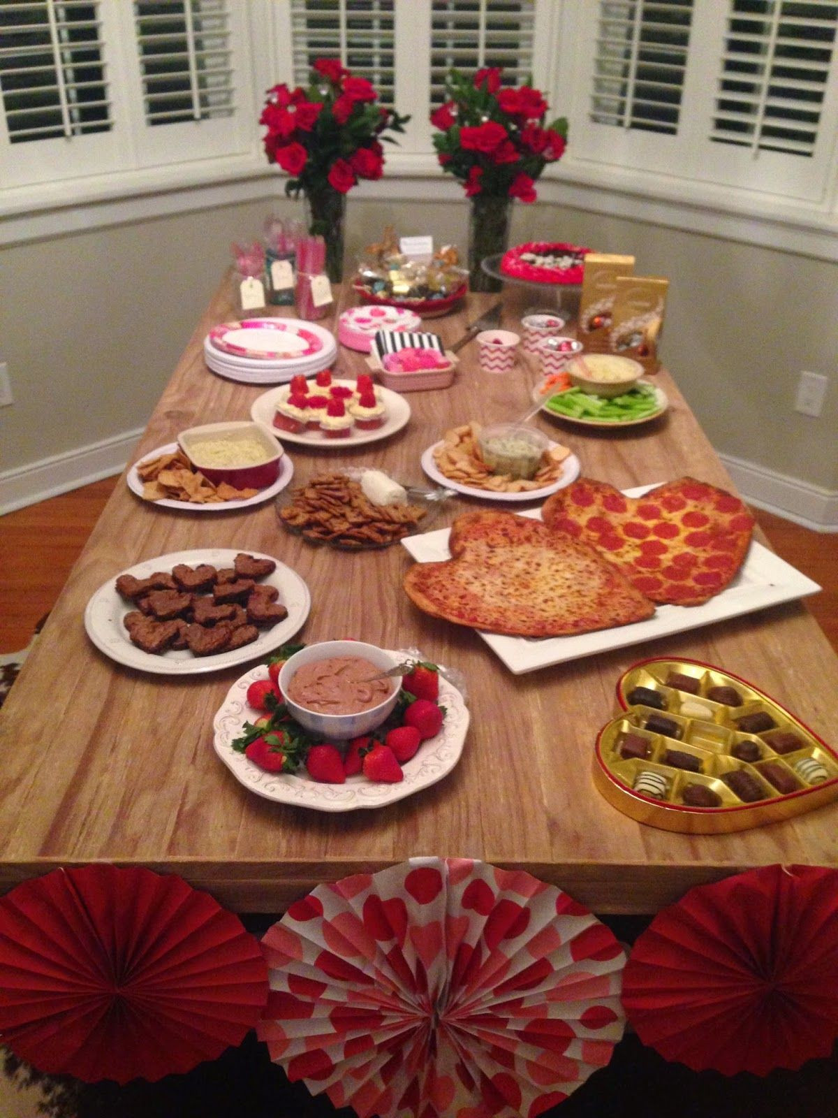 Day Bachelorette Party Ideas  Attention to Darling Rose & Valentine Bachelor Viewing