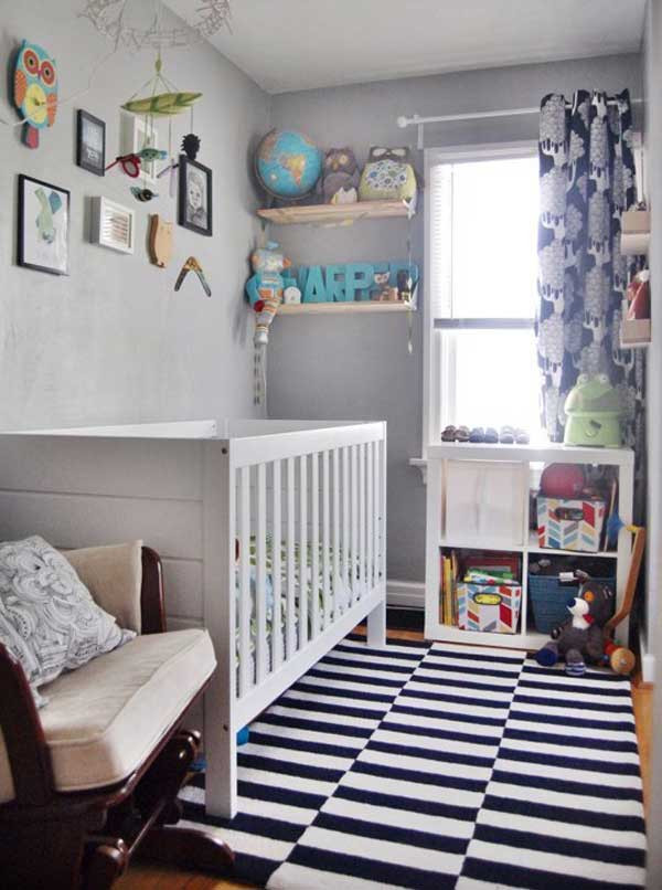 Decor Ideas For Baby Rooms  20 Steal Worthy Decorating Ideas For Small Baby Nurseries