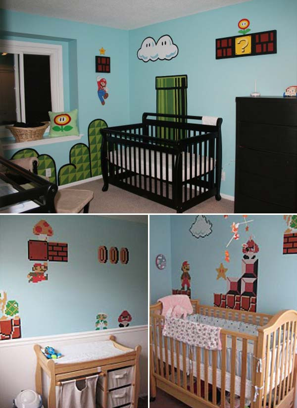Decor Ideas For Baby Rooms  22 Terrific DIY Ideas To Decorate a Baby Nursery Amazing