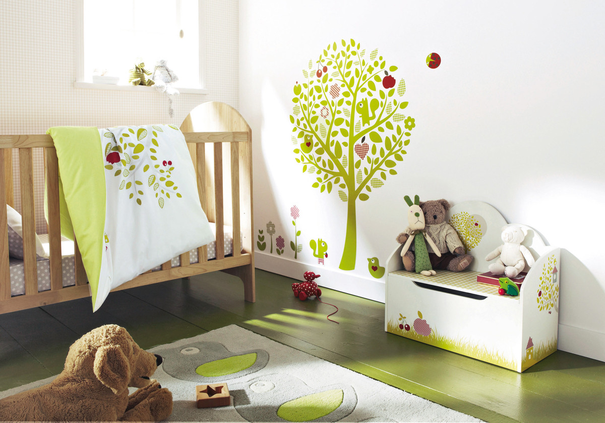 Decor Ideas For Baby Rooms  11 Cool Baby Nursery Design Ideas From Vertbaudet