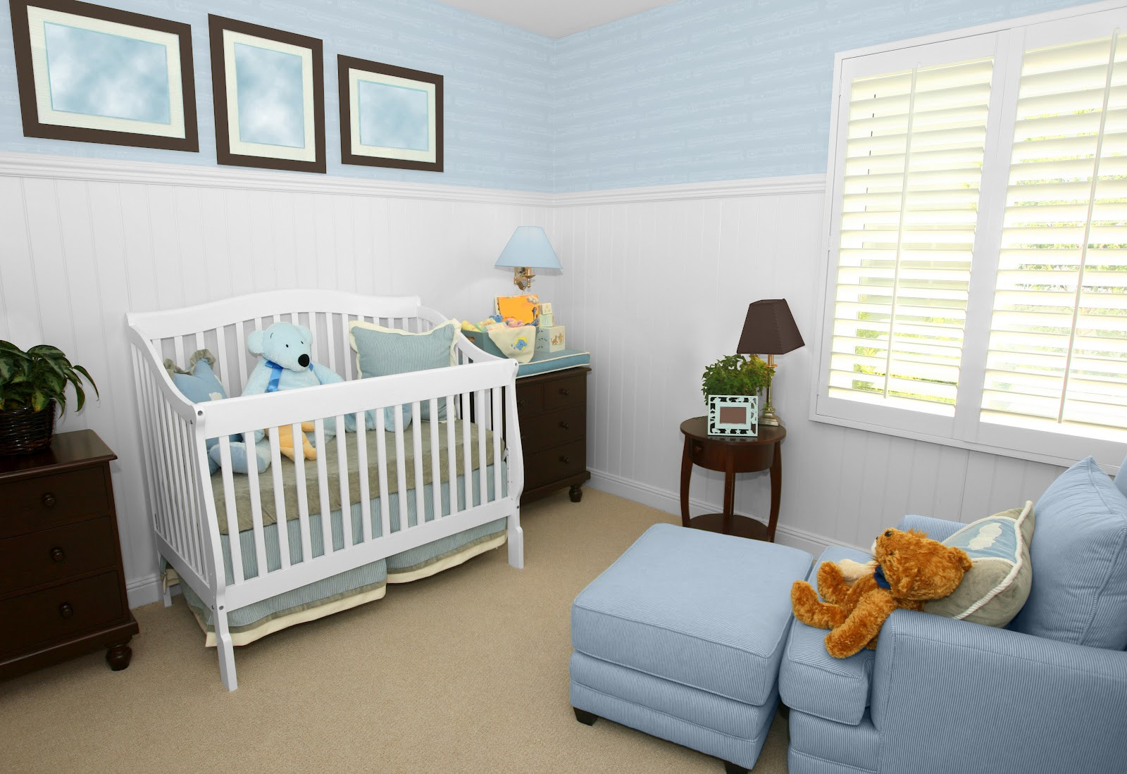 Decor Ideas For Baby Rooms  Top 10 Baby Nursery Room Colors And Decorating Ideas