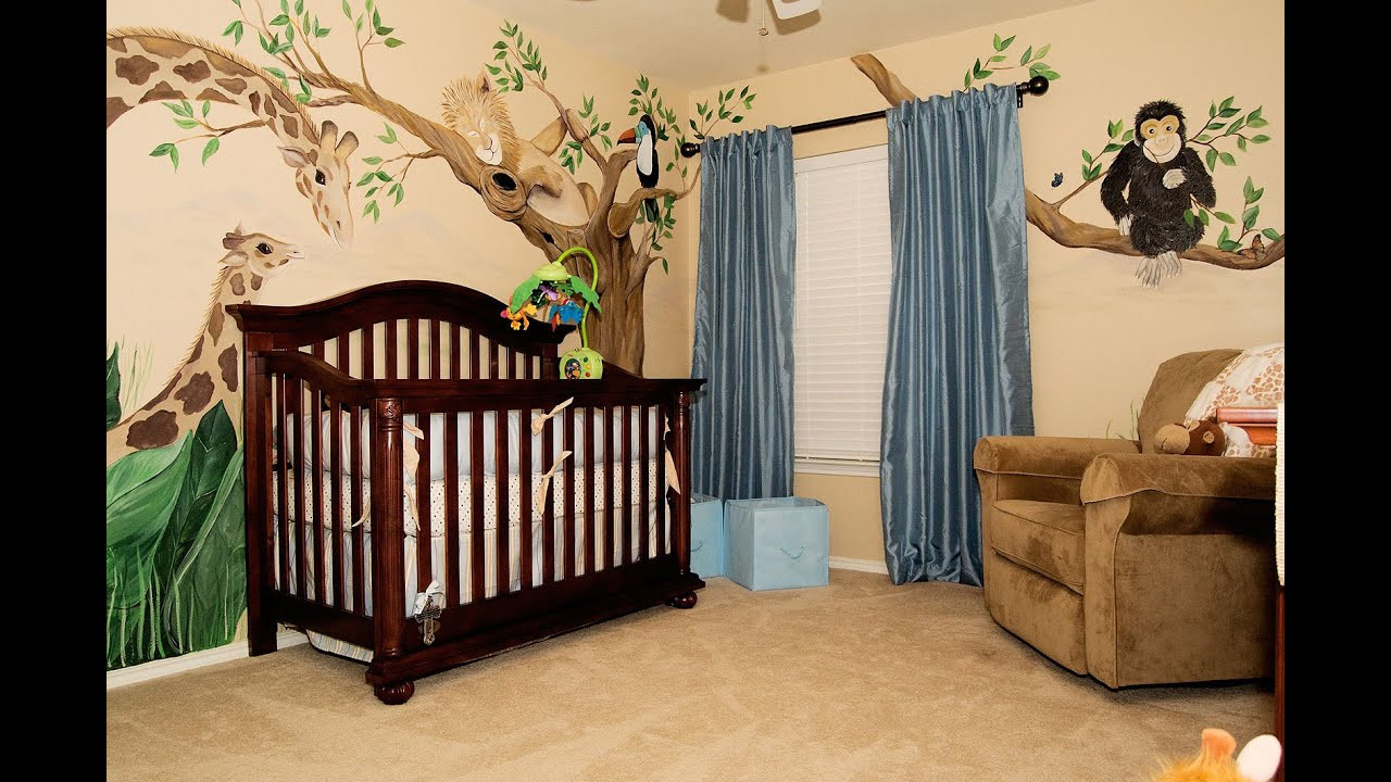 Decor Ideas For Baby Rooms  Delightful Newborn Baby Room Decorating Ideas
