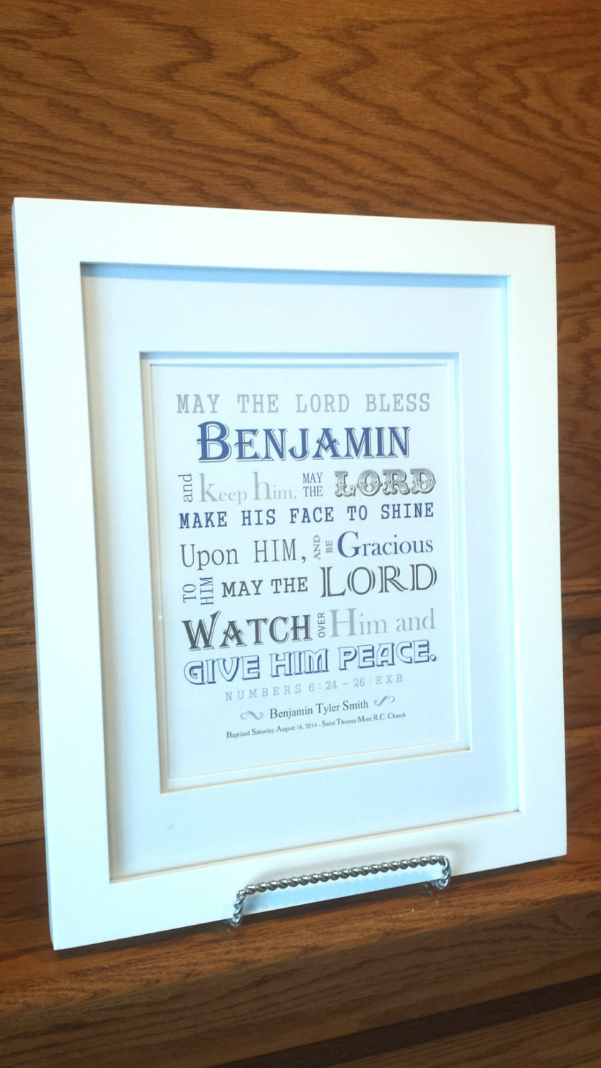 Dedication Gifts For Baby Boy  Baby Boy Baptism Gift Christening Gift Personalized