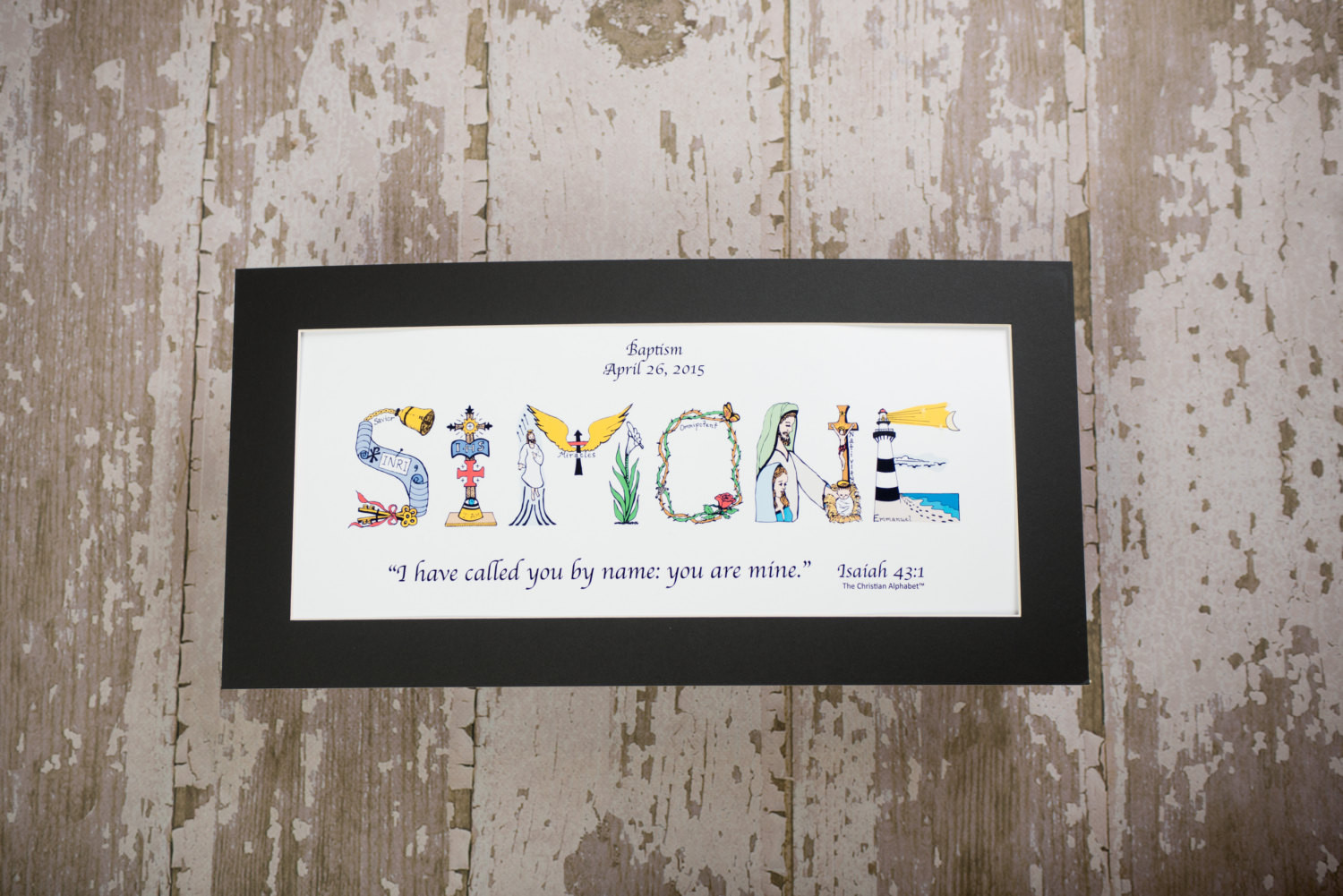 Dedication Gifts For Baby Boy  Baby Dedication Gift Personalized Christian Gifts