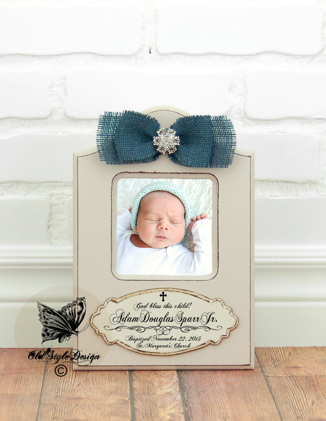 Dedication Gifts For Baby Boy  Baptism Gift BOY Christening Gift Boy Personalized picture