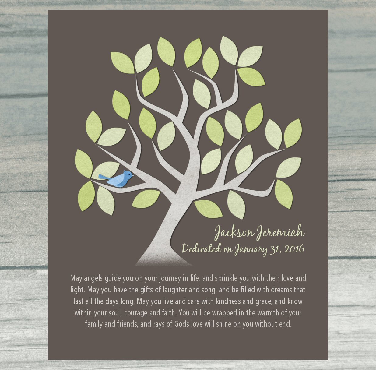 Dedication Gifts For Baby Boy  BABY DEDICATION Gift Baptism Gift Christening Personalized