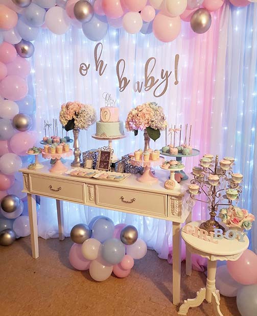 Different Ideas For A Gender Reveal Party  23 Adorable Gender Reveal Party Ideas crazyforus