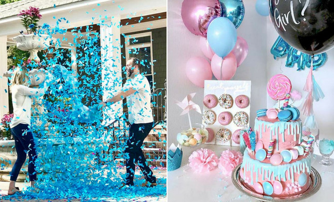 Different Ideas For A Gender Reveal Party  43 Adorable Gender Reveal Party Ideas