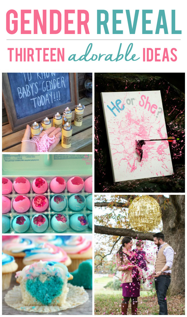 Different Ideas For A Gender Reveal Party  13 Adorable Gender Reveal Ideas