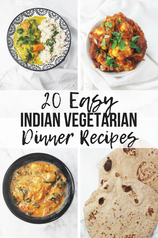 Dinner Recipes Indian Veg  20 Easy Indian Ve arian Dinner Recipes A Hedgehog in