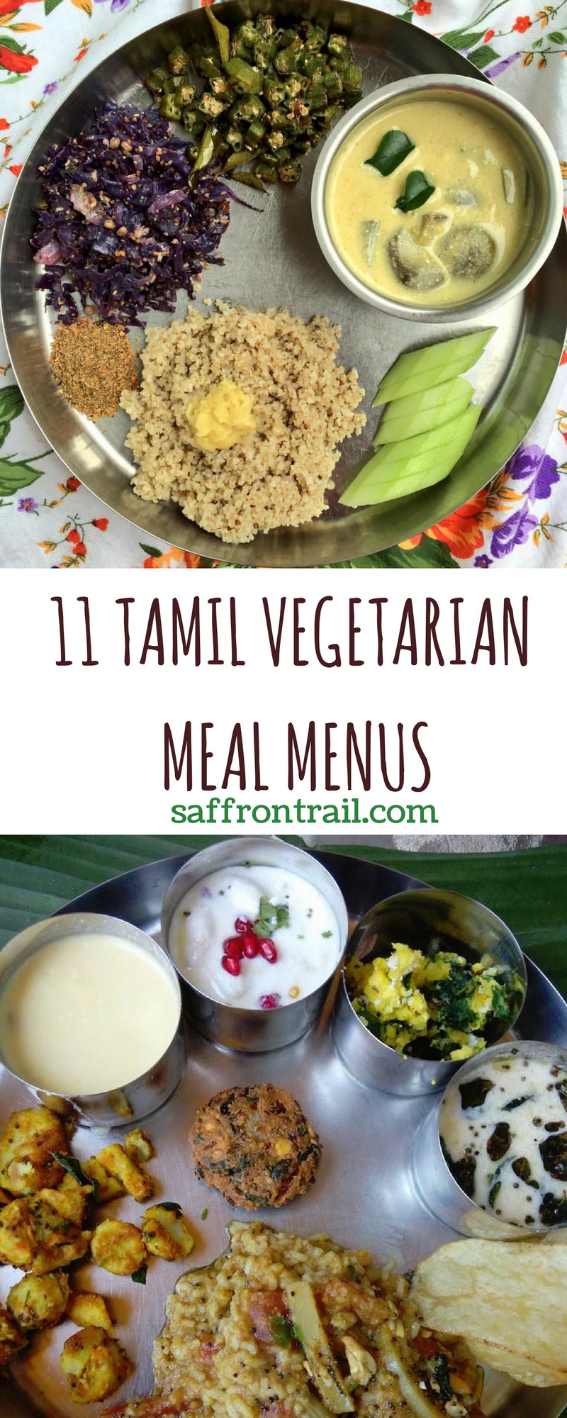 Dinner Recipes Indian Veg  11 Traditional Tamil Ve arian Lunch Menus