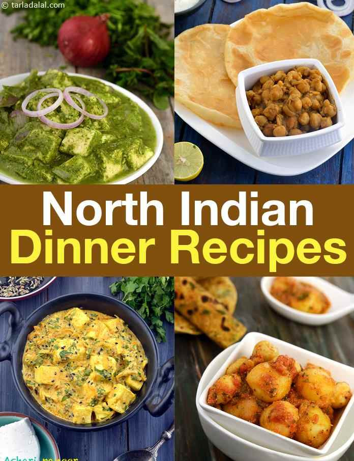 Dinner Recipes Indian Veg  North Indian Dinner Recipes North Indian Veg Recipes for