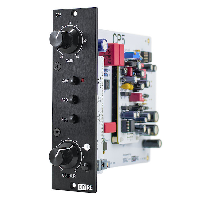 DIY 500 Series Rack  New Gear Review CP5 Preamp Kit from DIY Recording