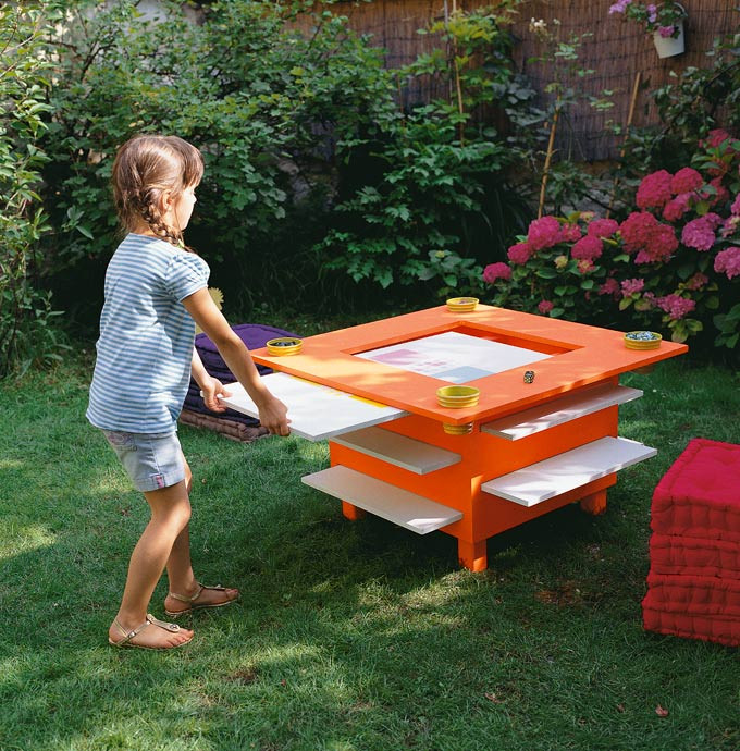DIY Activity Table For Toddlers  20 Cool DIY Play Tables For A Kids Room