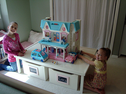 DIY Activity Table For Toddlers  Ana White
