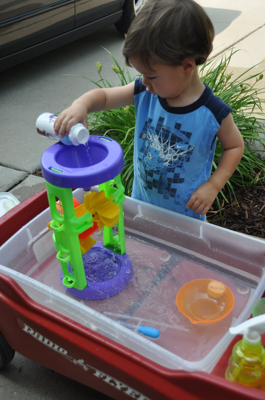 DIY Activity Table For Toddlers  Summer