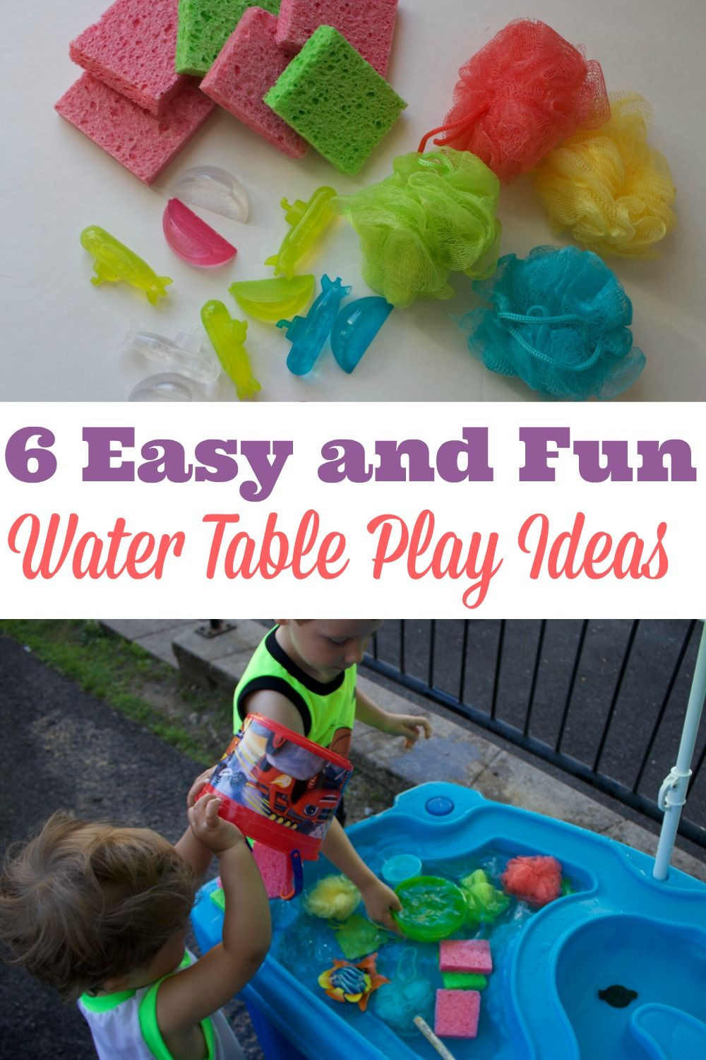 DIY Activity Table For Toddlers  Water Table Play Ideas