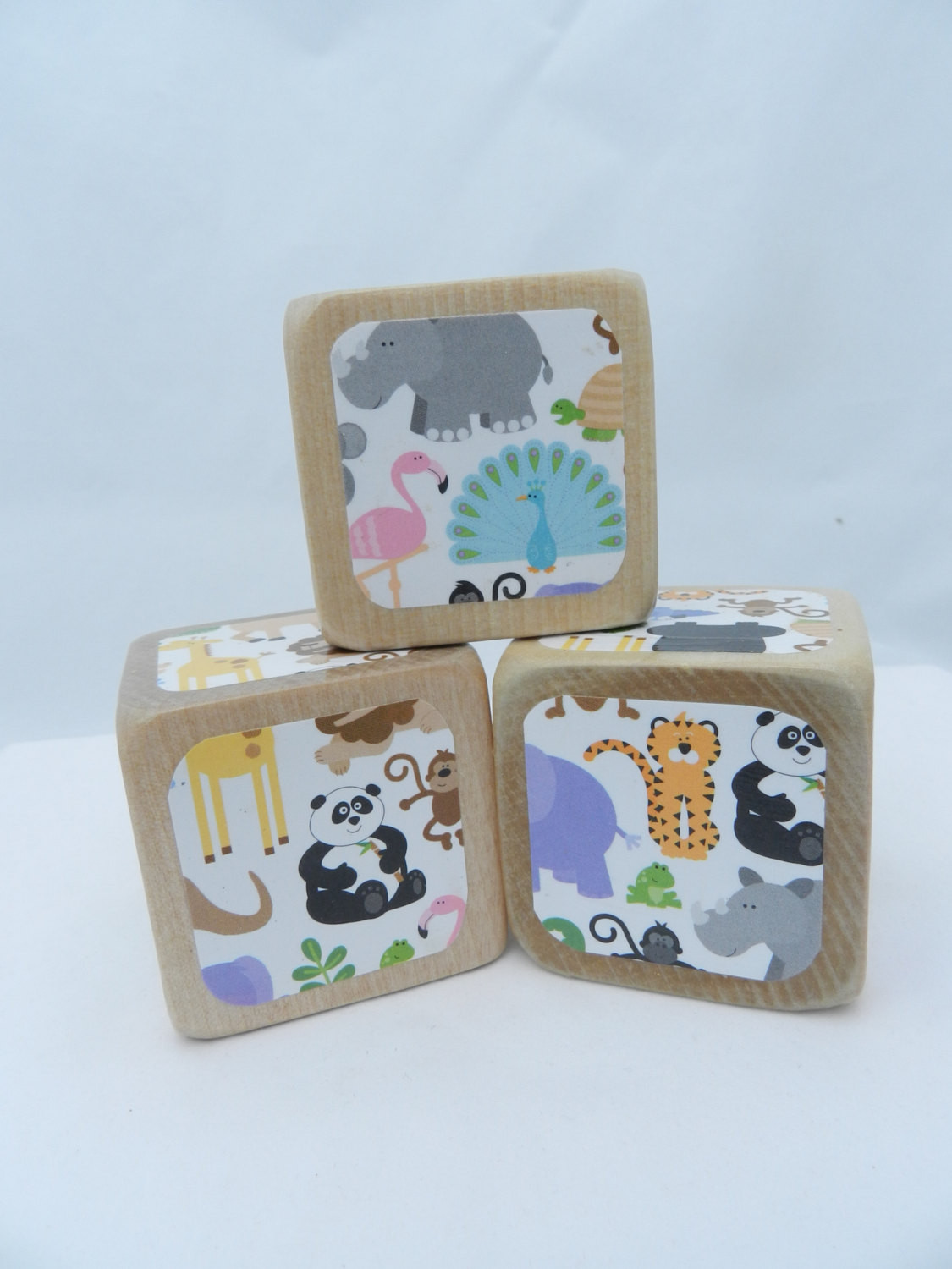 DIY Baby Blocks For Shower  Baby Shower DIY Wooden Blocks Baby Block Decorating by