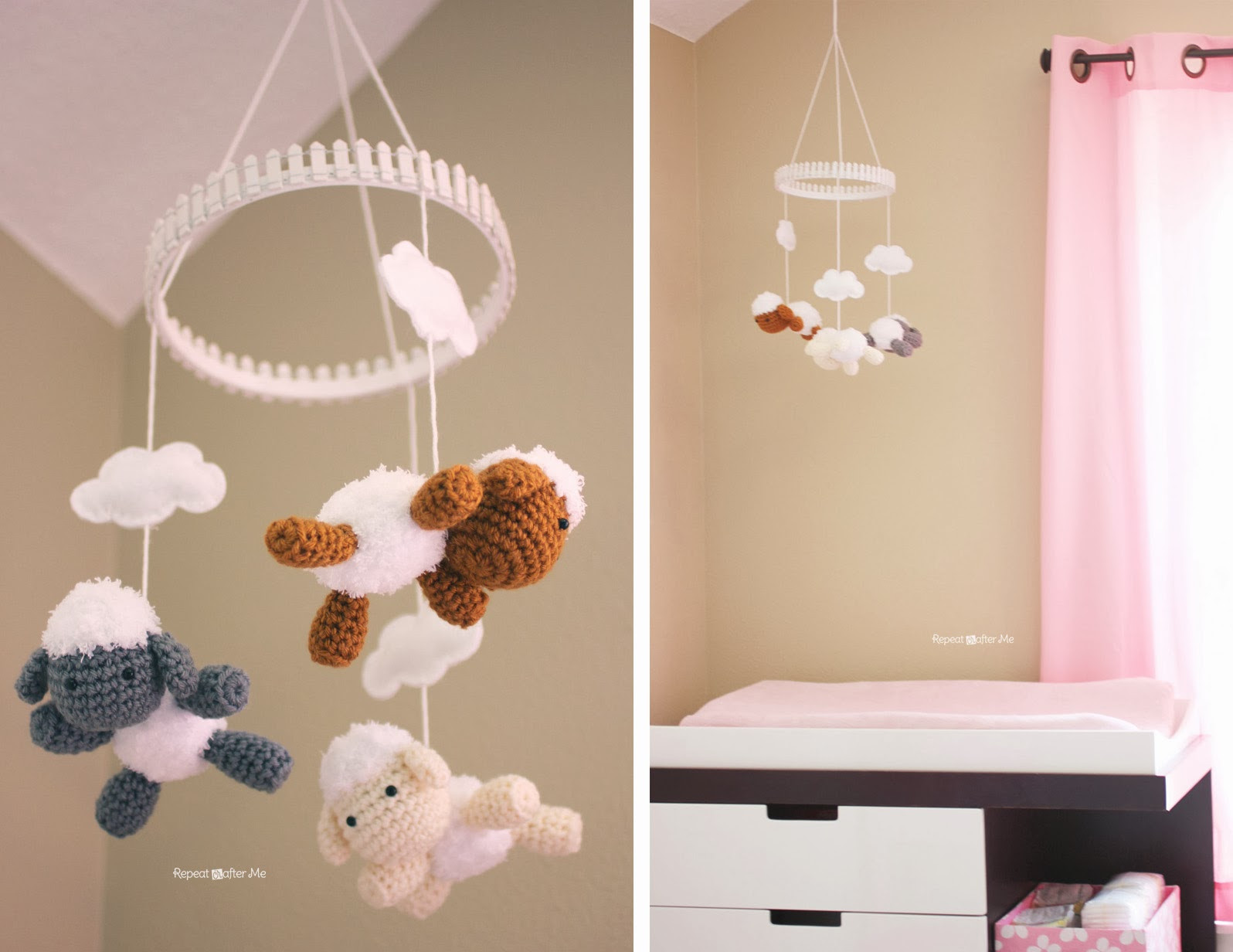 Diy Baby Nursery Decor  Baby Girl Nursery DIY decorating ideas Repeat Crafter Me