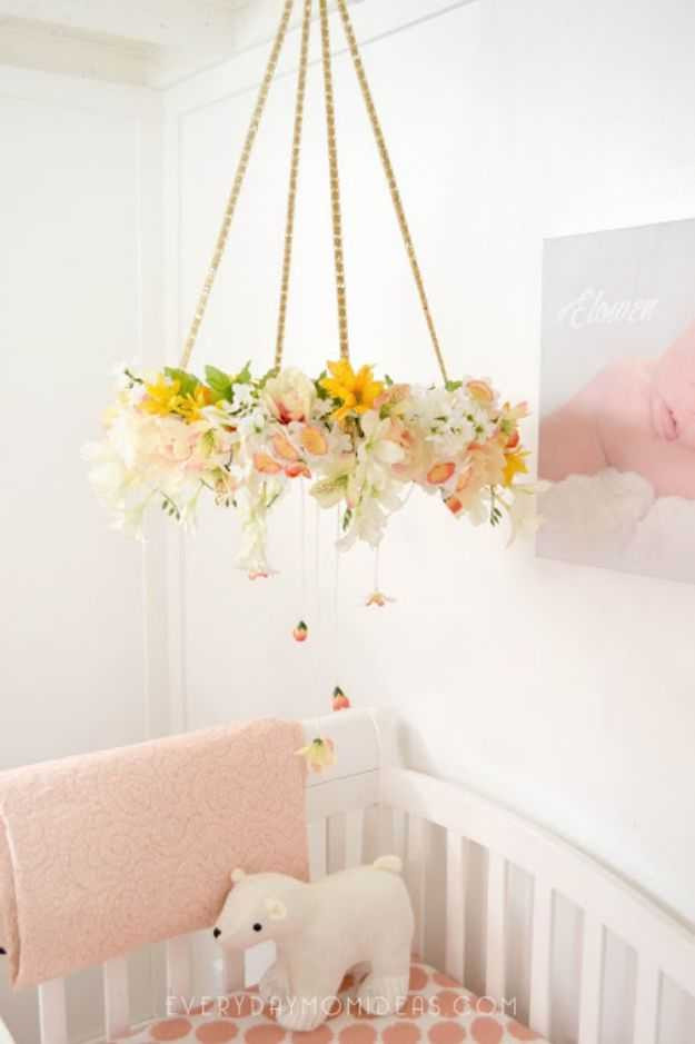 Diy Baby Nursery Decor  16 Beautiful DIY Nursery Decor Projects For Your Baby Girls