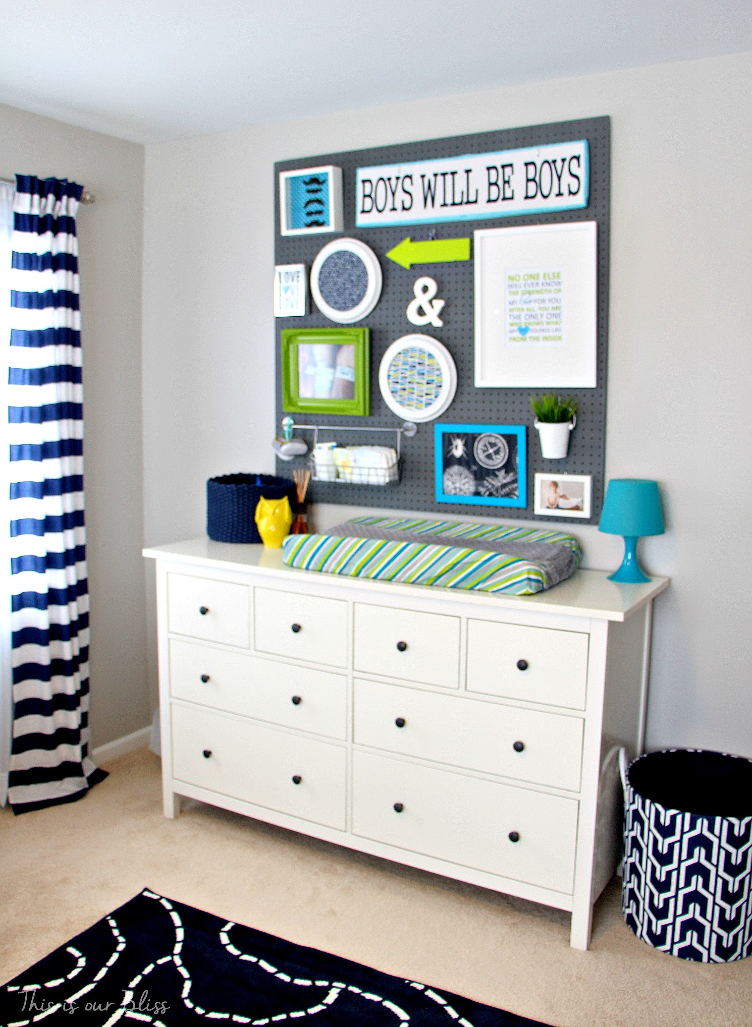 Diy Baby Nursery Decor  This is our Bliss IHeart Organizing This is our Bliss
