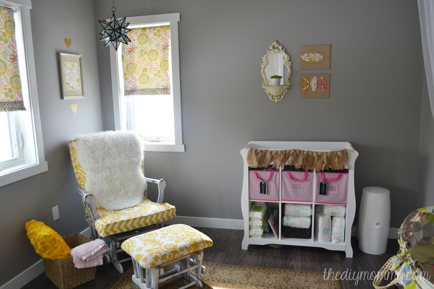 Diy Baby Nursery Decor  Baby B's Soft Boho Nursery