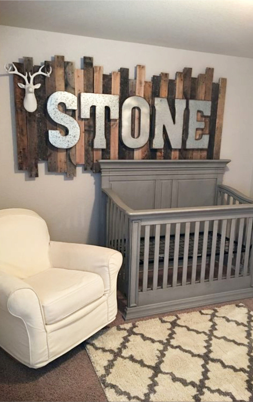 Diy Baby Nursery Decor  Rustic Baby Boy Nursery Themes PICTURES & Nursery Decor