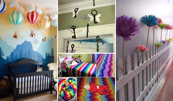 Diy Baby Nursery Decor  Awesome DIY Ideas To Decorate a Baby Nursery