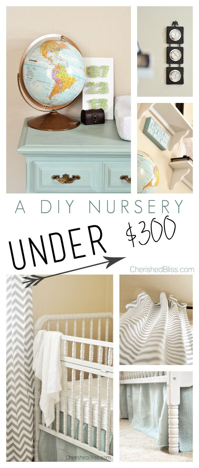 Diy Baby Nursery Decor  DIY Nursery on a Bud
