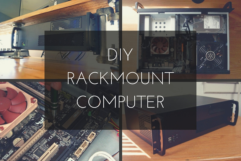 DIY Computer Rack  How to Build a Rackmount PC for Video Editing & Music