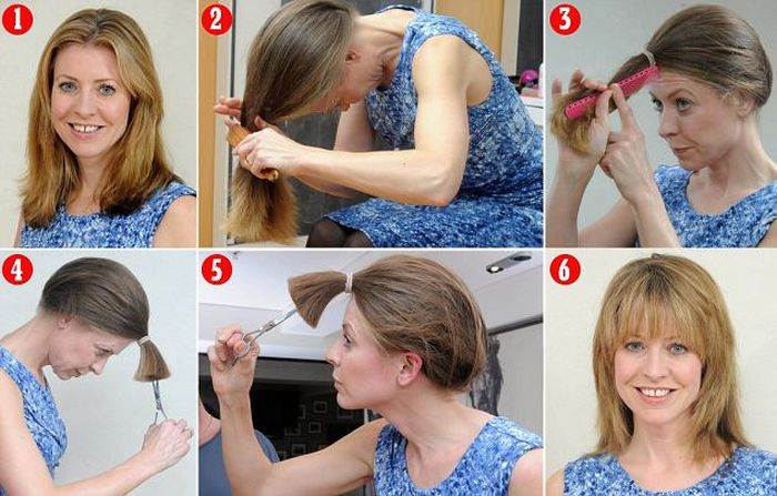 DIY Cut Your Own Hair  How to cut your own hair step by step DIY tutorial