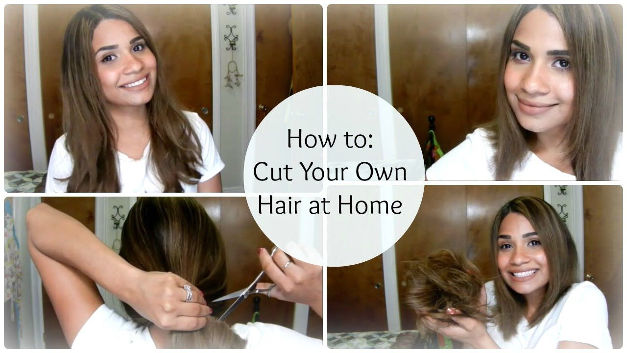 DIY Cut Your Own Hair  Pin on Chic Beauty Makeup