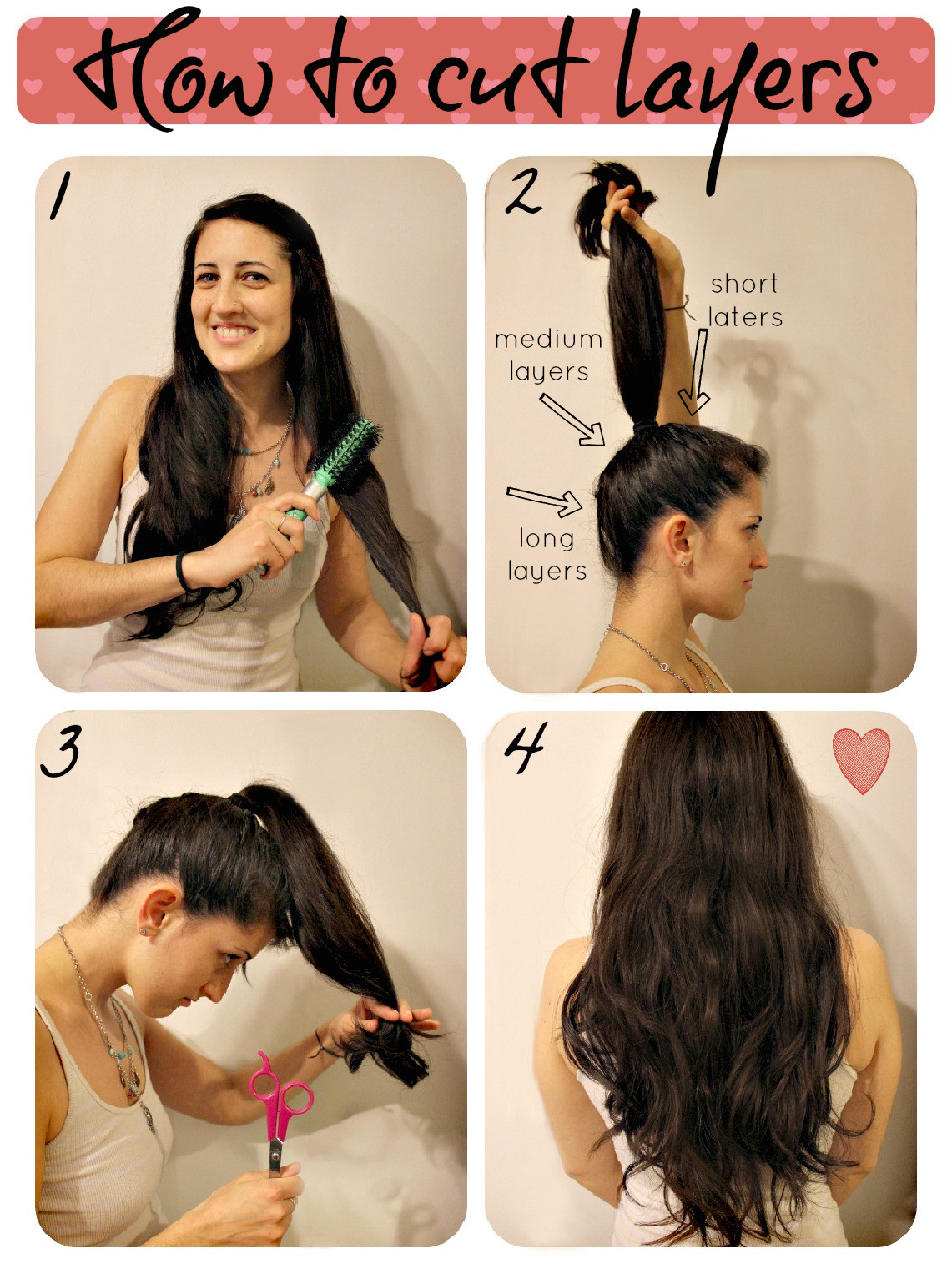 DIY Cut Your Own Hair  How To Cut Layers
