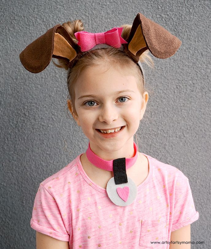 DIY Dog Costumes For Kids  DIY Dog Costume Accessories