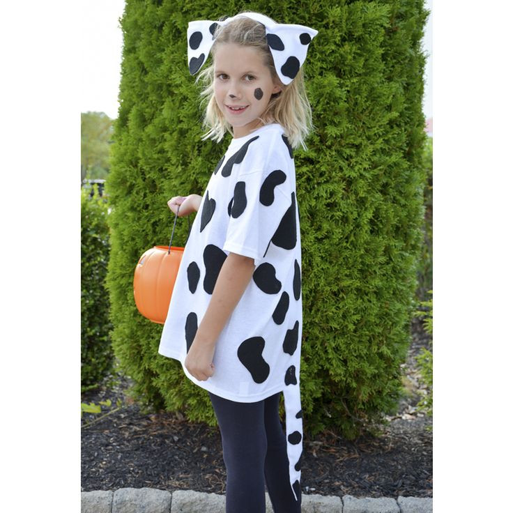 DIY Dog Costumes For Kids  Kid Costumes Halloween Costumes for Kids Dalmation Dog