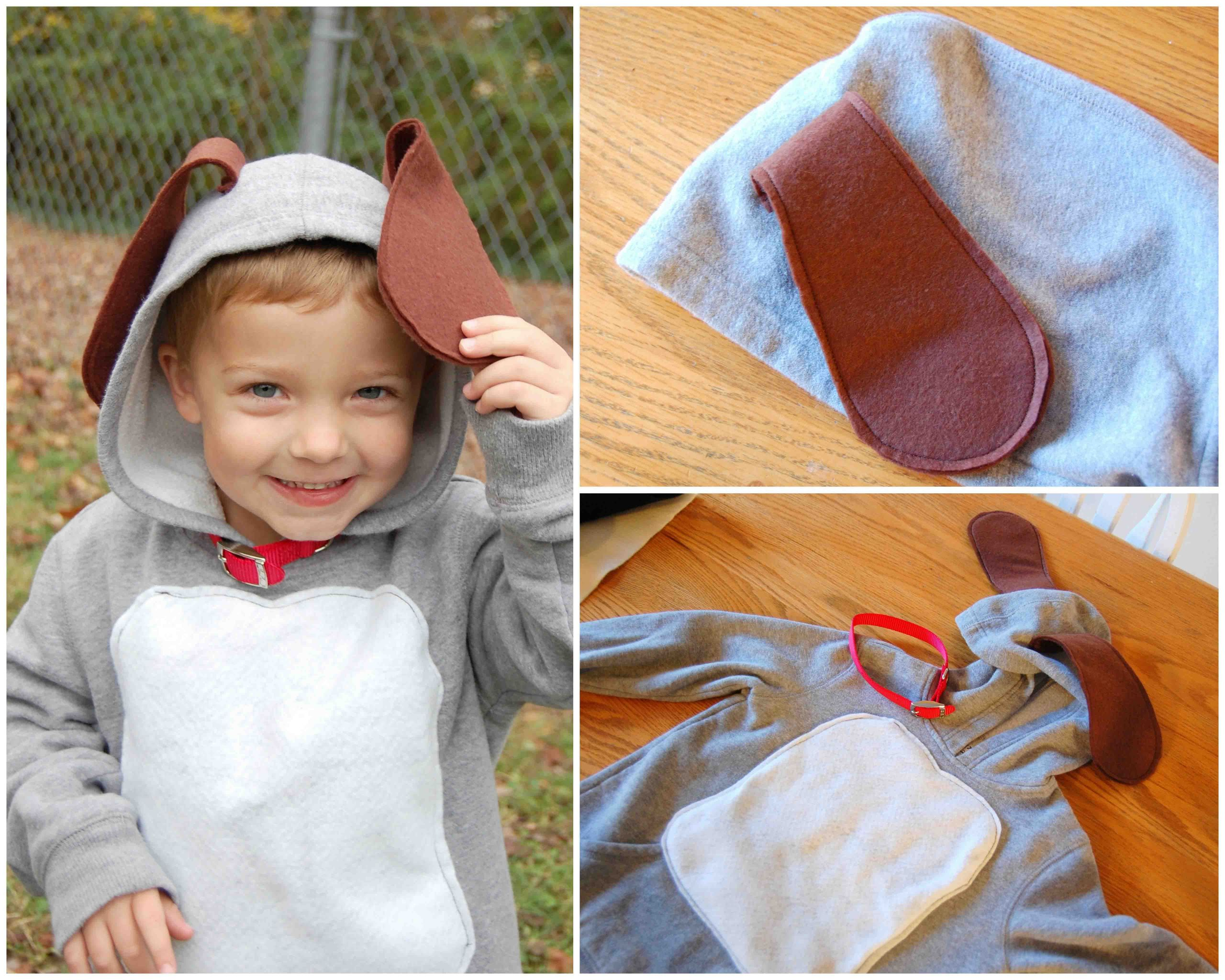 DIY Dog Costumes For Kids  [Pinning my own because I had trouble finding a homemade