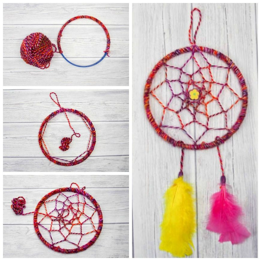DIY Dream Catchers For Kids  DIY Dreamcatcher Tutorial Mum In The Madhouse