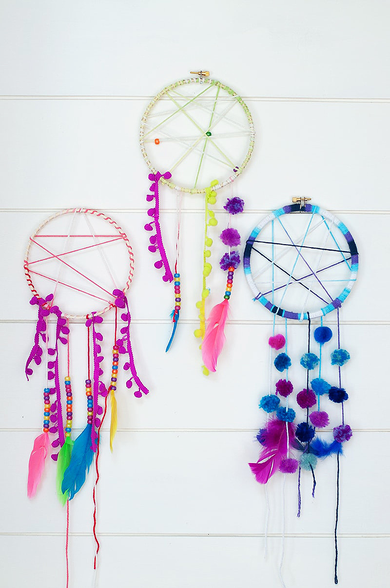 DIY Dream Catchers For Kids  Dream Catcher Project Perfect For Kids Summer Camp Darice
