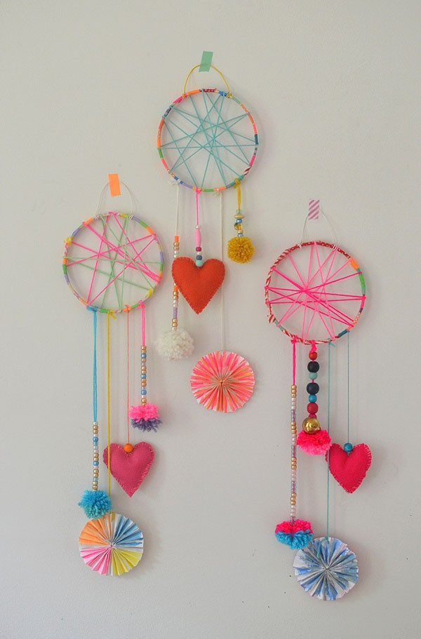 DIY Dream Catchers For Kids  Amazing photographs of diy crafts of dream catcher