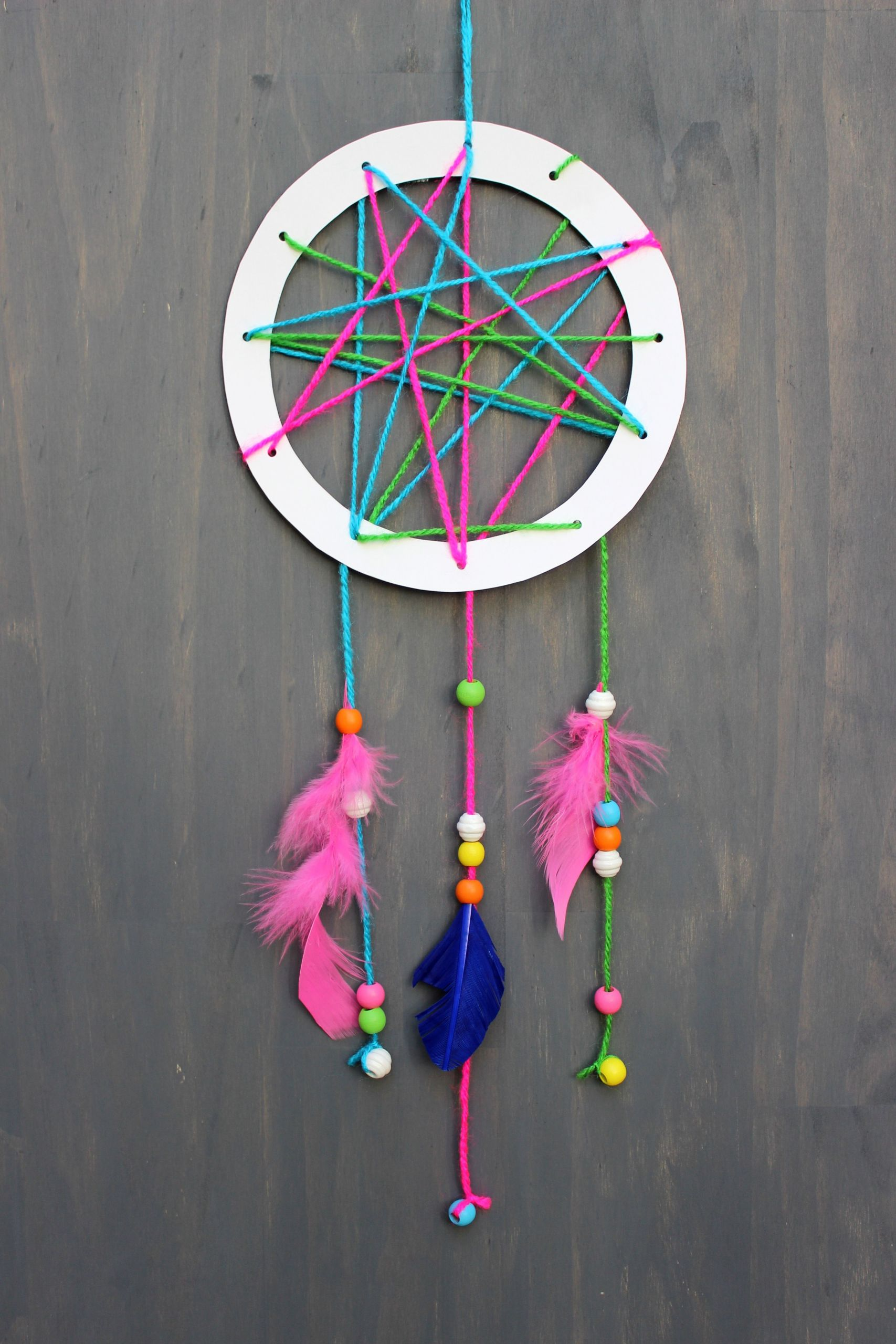 DIY Dream Catchers For Kids  Make Your Own Dreamcatcher