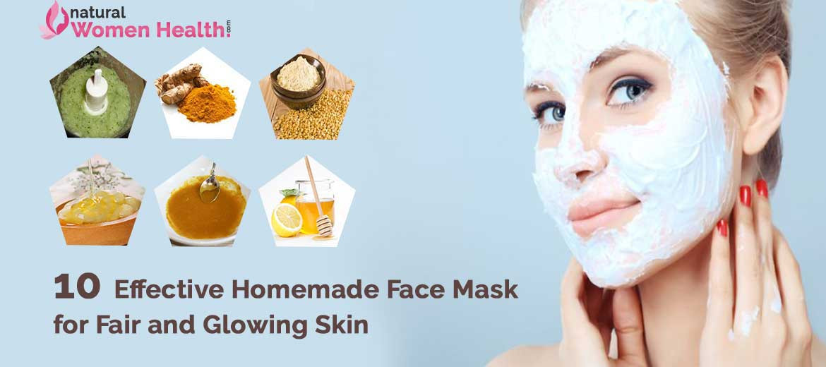 DIY Face Mask For Glowing Skin  Homemade Face Pack Recipes Blog
