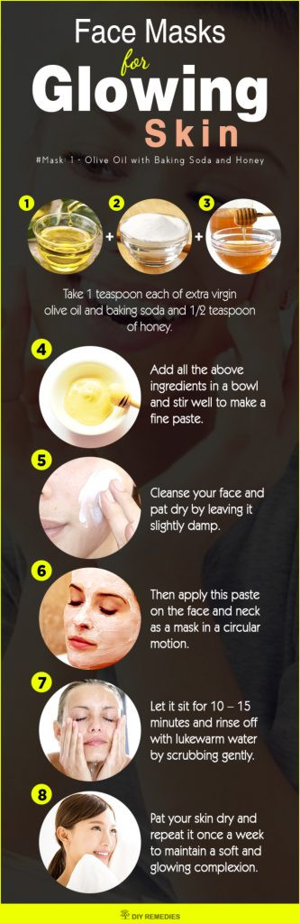 DIY Face Mask For Glowing Skin  10 Best Face Masks for Glowing Skin