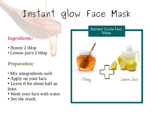 DIY Face Mask For Glowing Skin  6 Homemade Face Mask For Glowing Skin Naural Skin Care